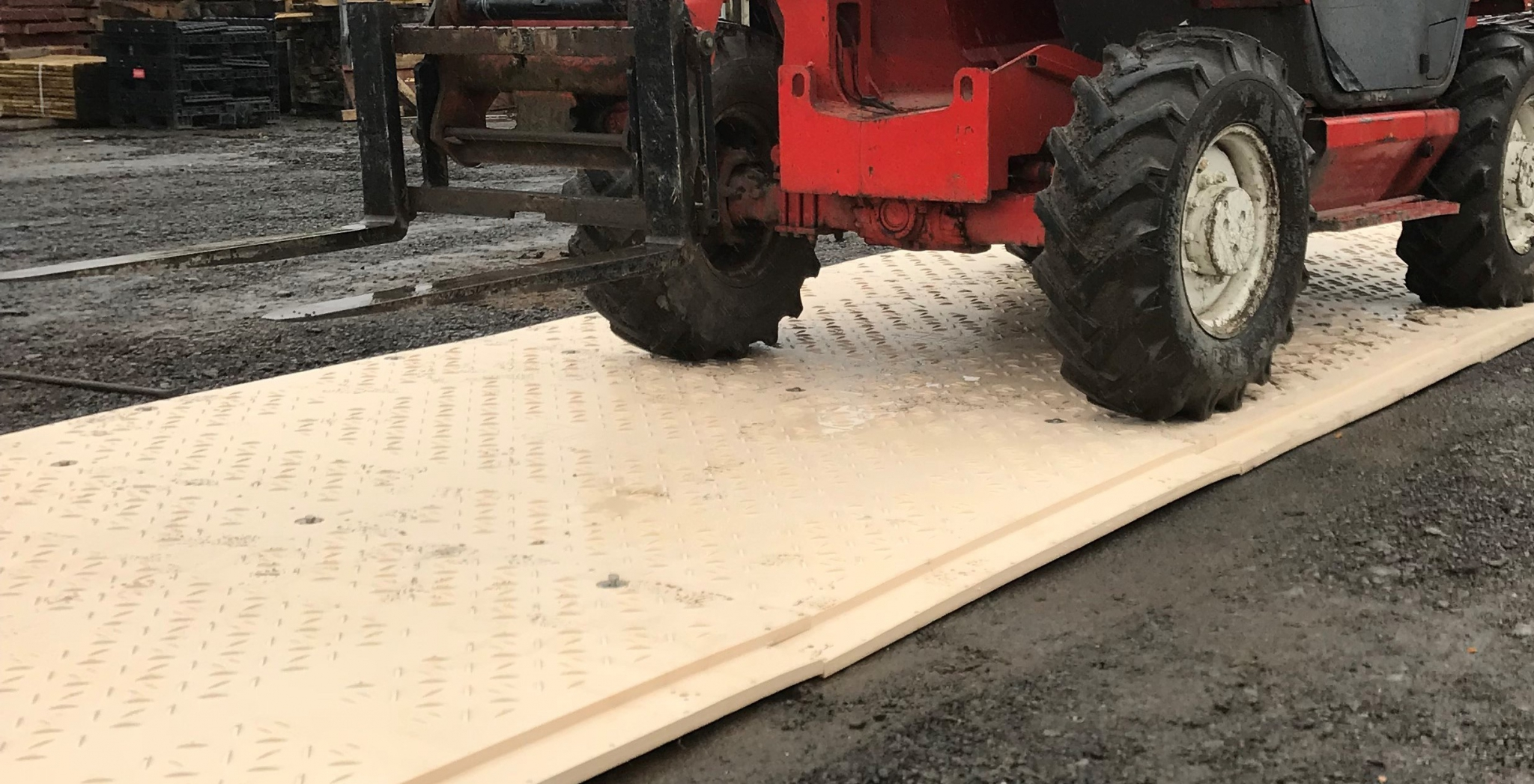 Plastic Ground Mat