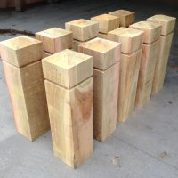 Timber Suppliers | Hardwood Bollards | Ryder Services